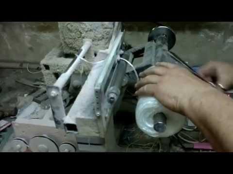 видео: Намоточные станки. Перемотка и упаковка полипропиленовых катушек