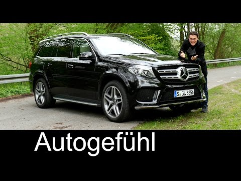 Mercedes GLS FULL REVIEW test driven GLS 400 450 - Autogefue