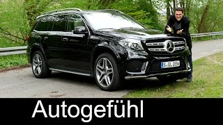 Mercedes GLS FULL REVIEW test driven GLS 400 450 - Autogefuehl
