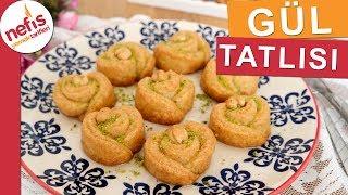 Gül Tatlısı Tarifi - En Kolay Gül Tatlısı Yapımı - Nefis Yemek Tarifleri
