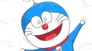 도라에몽 그리기  Doraemon Drawing [LimeTube] 라임튜브