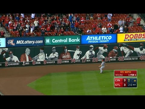 Molina walks it off with double to left