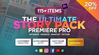 The Ultimate Story Pack   Premiere Pro | videohive