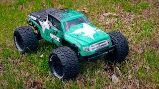 2WD ECX Ruckus RC Monster Truck - My Dad