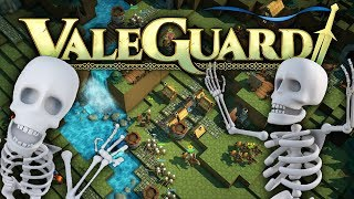 Valeguard - Building An Army To Fight Back - Tower Defense + City Building - Valeguard Gameplay pt 1