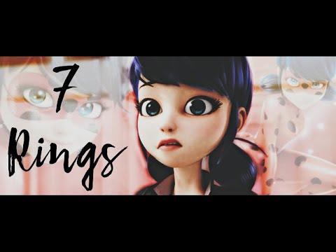 7 Rings | Marinette | Amv image