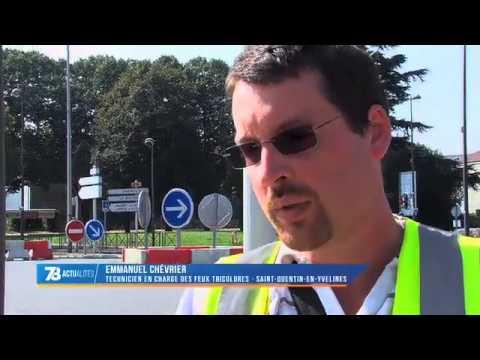 Un test pour fluidifier la circulation à Voisins-le-Bretonneux mené pendant trois mois