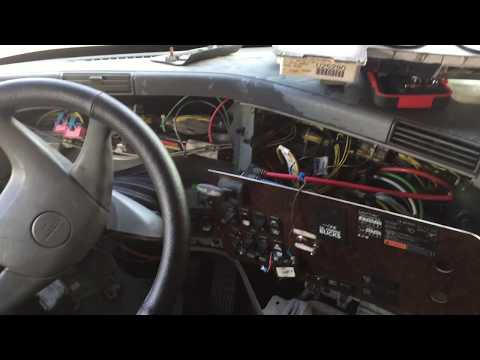 Low air pressure buzzer location and troubleshooting 2006