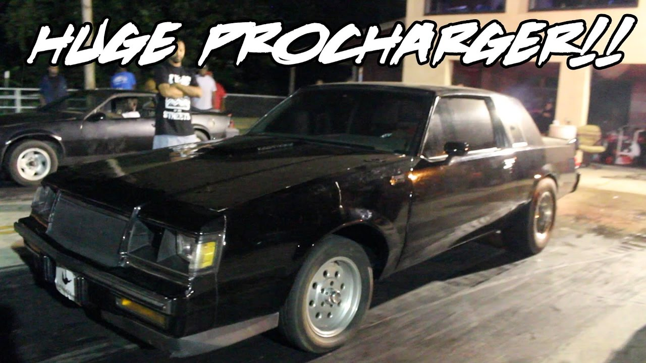 HUGE F2 PROCHARGED SMALL BLOCK GRAND NATIONAL!