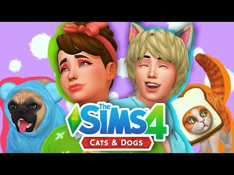 SIMS 4 CATS AND DOGS | CREATE A SIM AND PET OVERVIEW