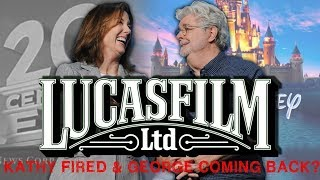 KATHLEEN KENNEDY FIRED & GEORGE LUCAS COMING BACK TO LUCASFILM?