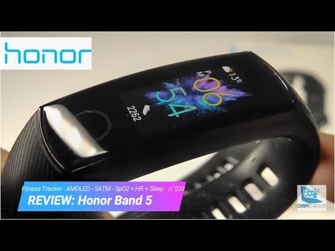 REVIEW: Honor Band 5 - BEST Budget Fitness Tracker! ($30, HR + SpO2 )