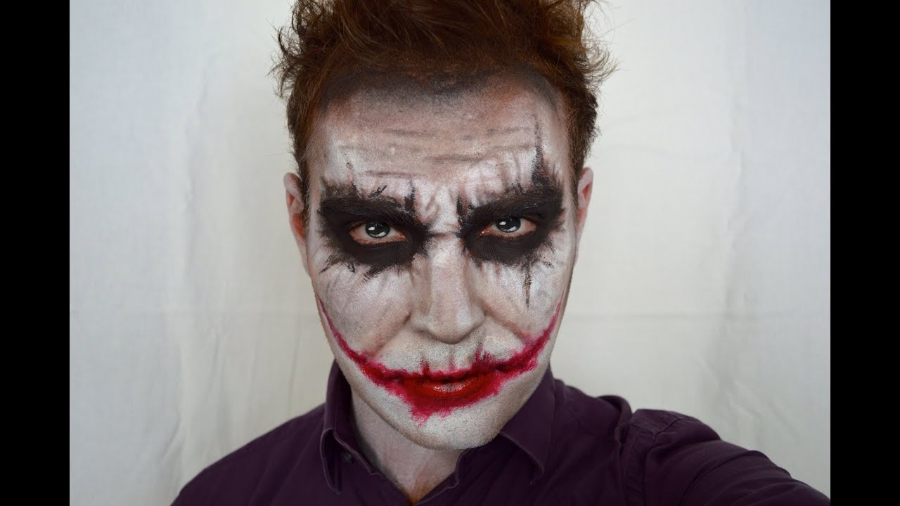 the joker heath ledger dark knight version halloween makeup tutorial benfrenchmua youtube. Black Bedroom Furniture Sets. Home Design Ideas