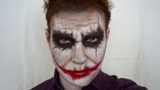 THE JOKER (Heath Ledger dark knight version) HALLOWEEN MAKEUP TUTORIAL BENFRENCHMUA