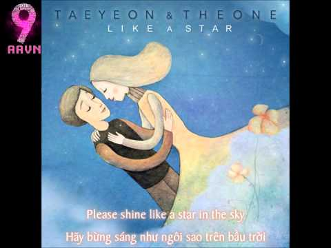 [ Engsub + Vietsub ] SNSD Taeyeon & The One - Like A Star