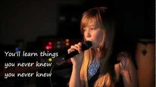 Colours Of The Wind - Connie Talbot (Lyrics Video ♥)