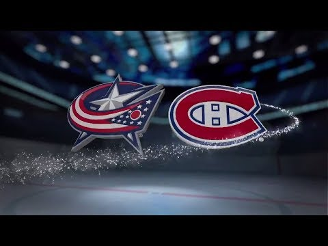 Columbus Blue Jackets vs Montreal Canadiens - Nov. 14, 2017 | Game Highlights | NHL 2017/18. Обзор