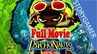 Psychonauts Full Movie All Cutscenes
