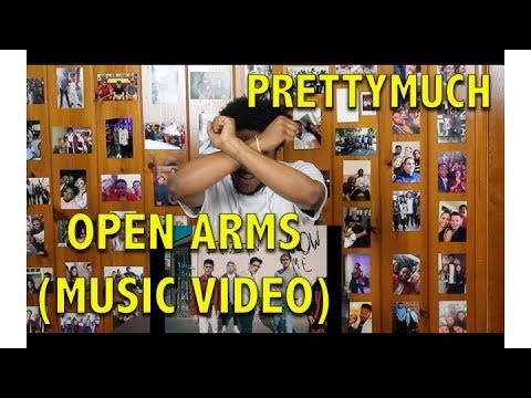 PRETTYMUCH- OPEN ARMS   REACTION