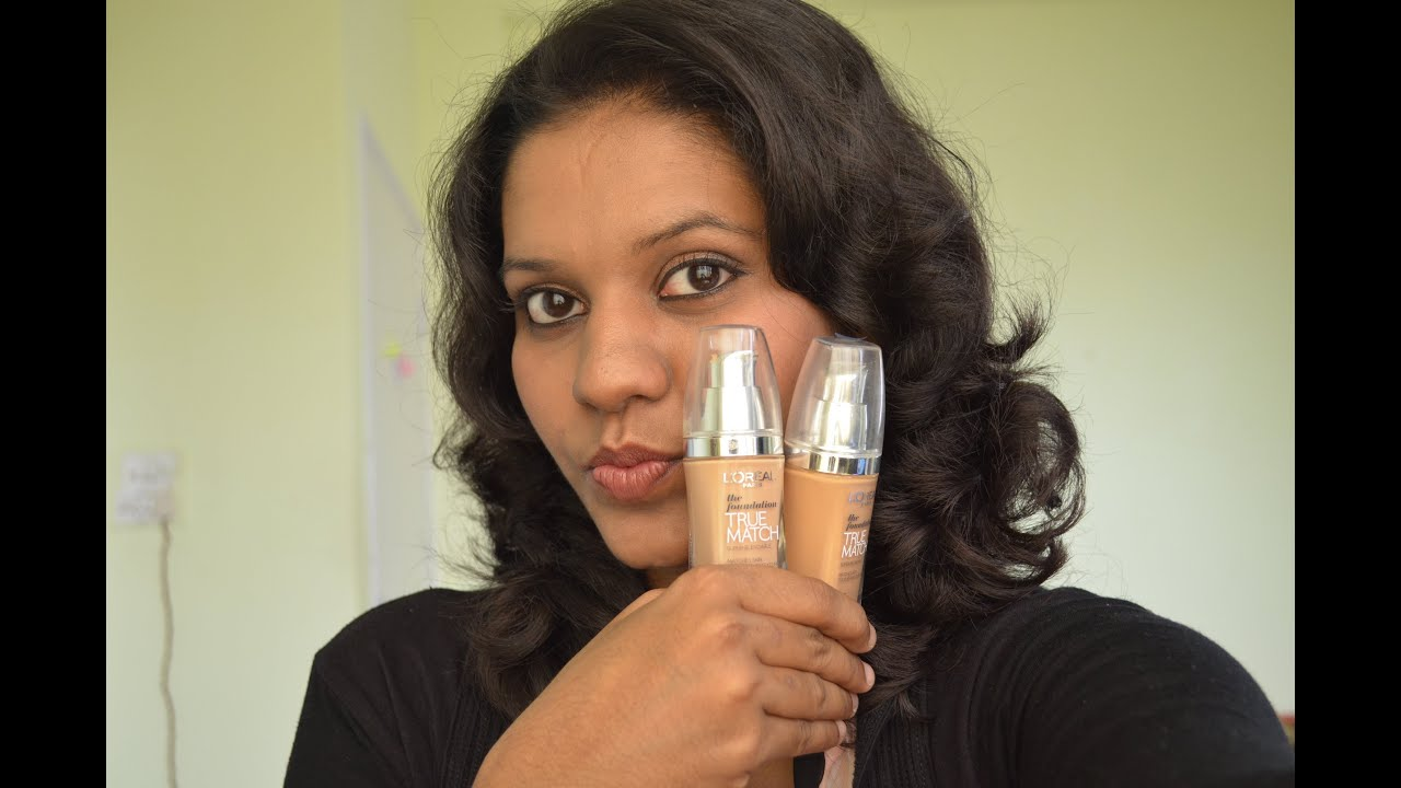 How To Find Your Loreal True Match Foundation Shade For