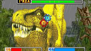 Jurassic Park arcade 2 player 60fps