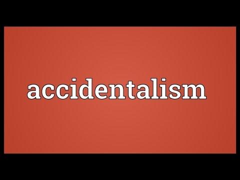 Header of accidentalism