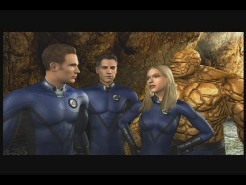 Fantastic 4: Rise of the silver surfer Part 1 Full game Walktrought Gameplay XBOX 360