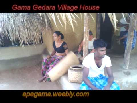 Authentic Sri Lankan Village HouseApegama Gama Gedara