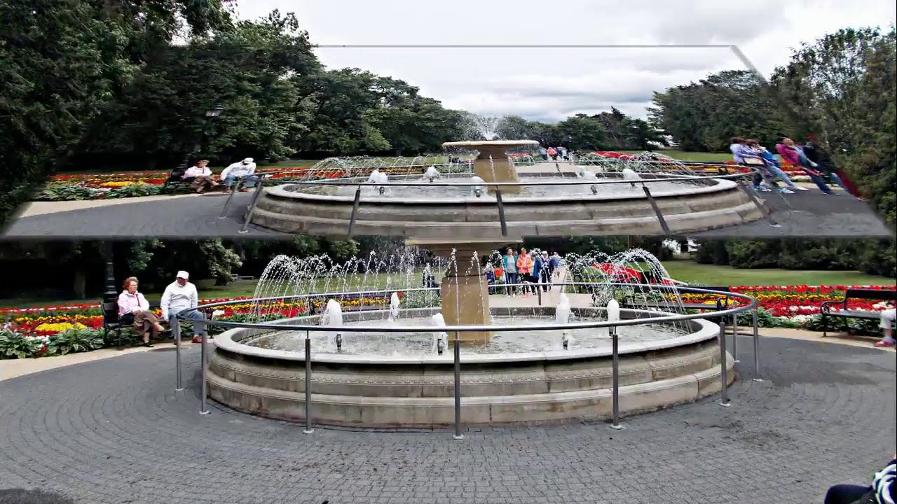 Ciechocinek Dywany Kwiatowe I Fontanna Na Parterach Hellwiga