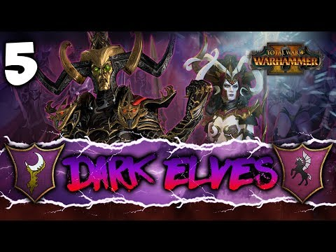 BLACK ARK BOMBARDMENT! Total War: Warhammer 2 - Dark Elves Coop Campaign w/ Pixelated Apollo #5