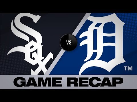 Mercer's 3 RBIs help Tigers top White Sox | White Sox-Tigers Game Highlights 8/6/19