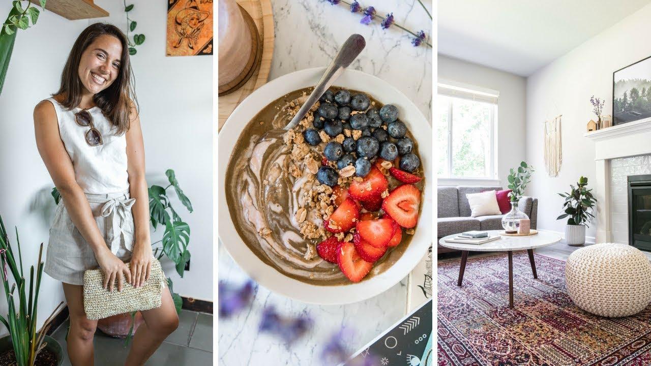 What I Ate Today + Mini House Tour! (Vegan)