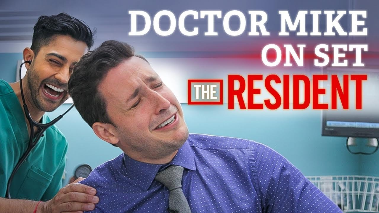Download Doctor Mike On Set of The Resident! | Audition FAIL + Cast Interview
