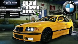 BMW E36 GTA V car mod tuning !! [ Soley911 ]