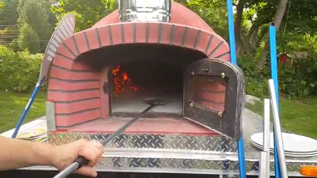 Portable wood fired pizza oven for sale - Mobile Woodfired Pizza Trailer