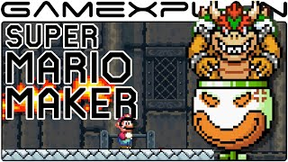 Super Mario Maker - Customizing Bowser & Bowser Jr Boss Fights