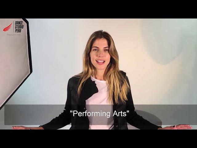 PERFORMING ARTS   DANCE STUDIO PERÚ