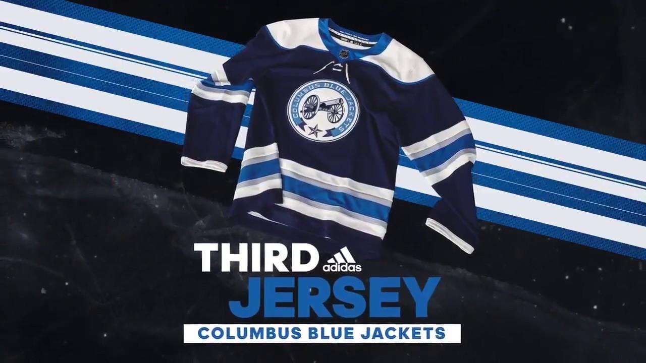 columbus blue jackets third jersey schedule