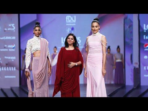 Purple Feathers By Pinkey | Spring/Summer 2020 | India Fashion Week