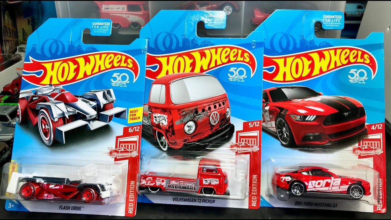 Hot wheels 2017 red edition '15 dodge charger srt target exclusive.