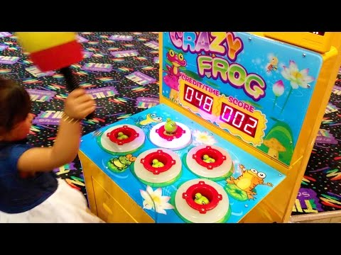 Kids Arcade Games Bowling Ball Game Duck & Frog Game - ZMTW