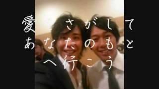 奥華子の笑って笑ってと、ライセンスの画像を合わせてみました!! 初め...