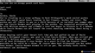 Hollywood Hijinx gameplay (PC Game, 1986)