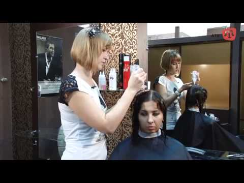 Как делают ламинирование волос в салоне