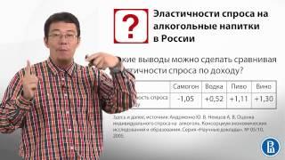 3.5 Эластичности в экономике