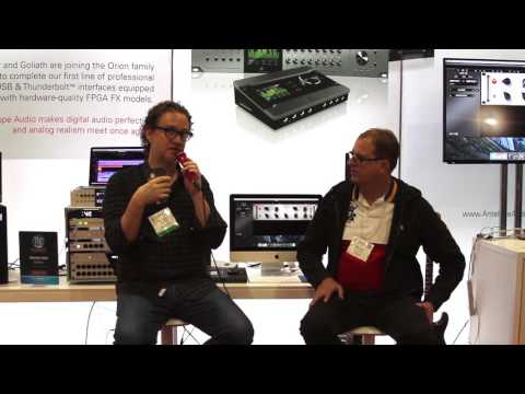 Producer Greg Wells stunned by Antelope's LangEQ at AES LA 2016
