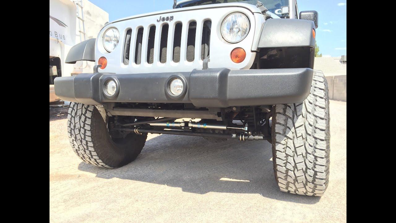 Bilstein Dual Steering Stabilizer For Jeep JK 2007-2018