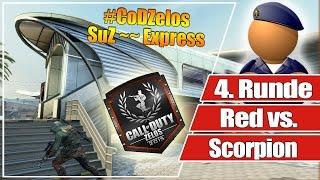 #CoDZelos Halbfinale // Red vs. Scorpion  // 4. Runde SuZ auf Express