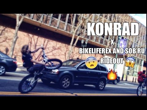 KONRAD X BIKELIFE REX RIDEOUT 2017 ᴴᴰ (Funny moments/Highlights)