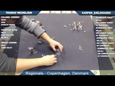 X-Wing Battle Report 69 - Copenhagen Regionals, Top 8